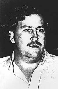 Pablo Escobar, the Columbian druglord who brought hippos to the New World.